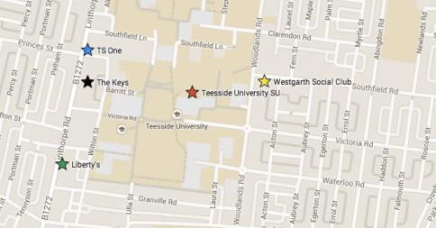Twisterella Map