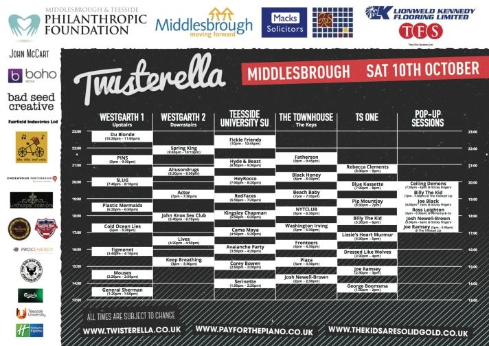 Twisterella Times