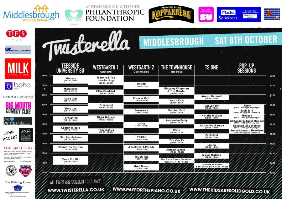 Twisterella Times 2016