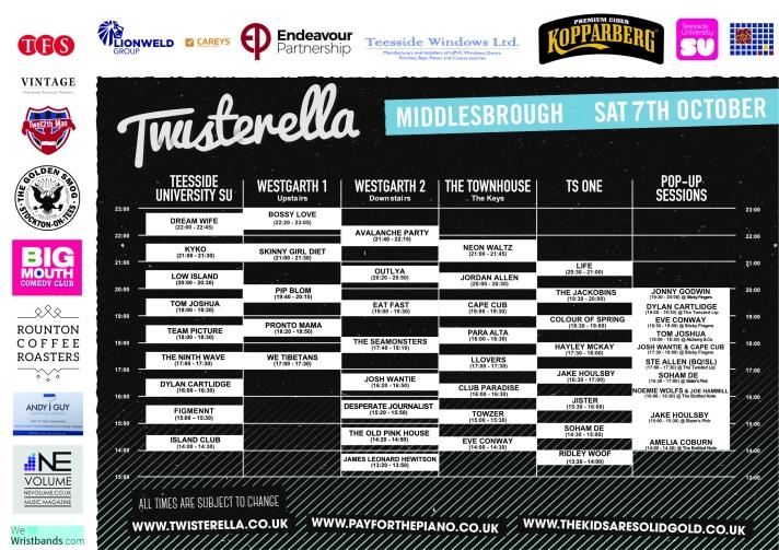 Twisterella Times 2017
