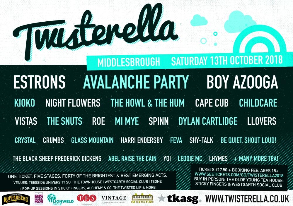 Twisterella Festival 2018 First Announcement